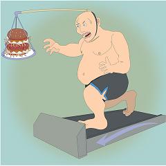 gå ner i vikt med ett promenadband